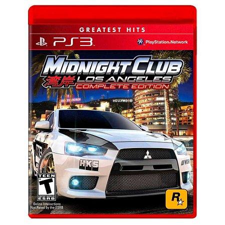 Midnight Club Los Angeles (Usado) - PS3