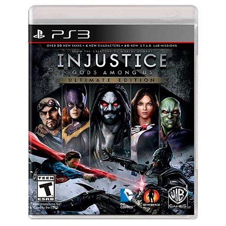 Injustice: Gods Among Us Ultimate Edition (Usado) - PS3