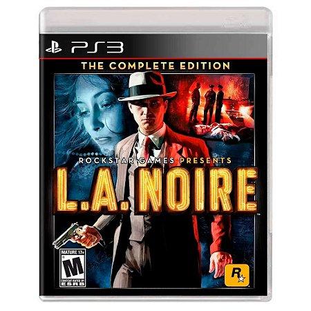 L.A. Noire: The Complete Edition (Usado) - PS3