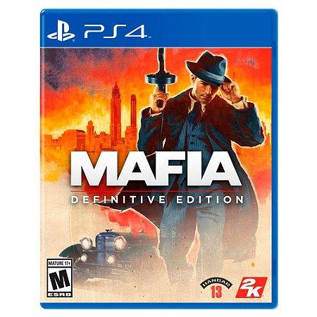 Mafia: Definitive Edition (Usado) - PS4
