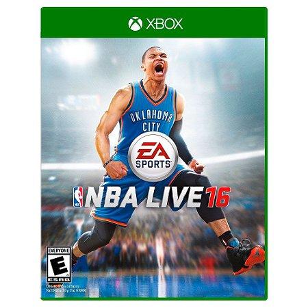 NBA Live 16 (Usado) - Xbox One