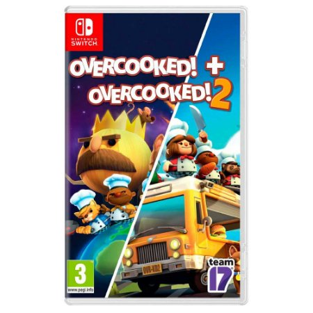 Overcooked! Special Edition + Overcooked! 2 (Usado) - Switch