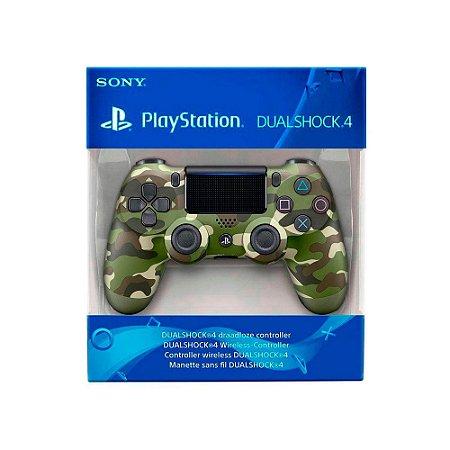 Controle Dualshock 4 1ª Linha - Camuflado - PS4