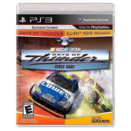 Days of Thunder: Nascar Edition (Usado) - PS3