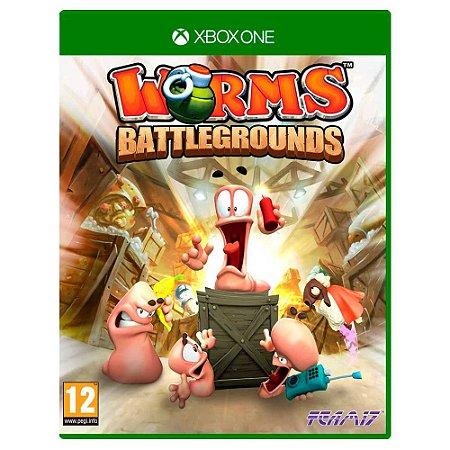 Worms Battlegrounds (Usado) - Xbox One