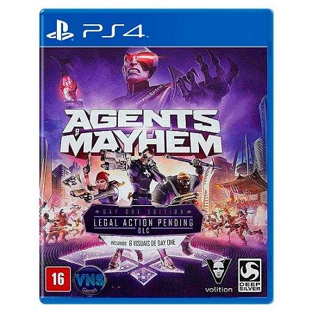 Agents of Mayhem (Usado) - PS4