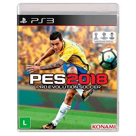 PES 2018 (Usado) - PS3