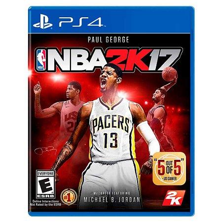 NBA 2K17 (Usado) - PS4