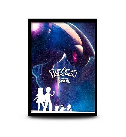 Quadro Pokémon Shining Pearl - 32,5 x 43cm
