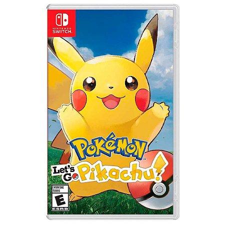 Pokémon: Let's Go Pikachu! - Switch