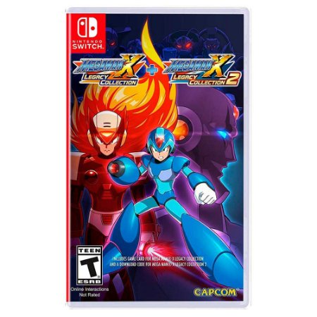 Mega Man X Legacy Collection 1 + Legacy Collection 2 - Switch