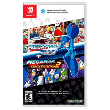 Mega Man Legacy Collection 1 + Legacy Collection 2 - Switch