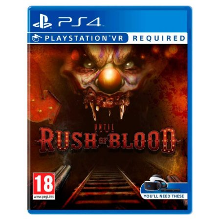 Until Dawn Rush of Blood - PS4