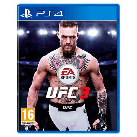 EA UFC 3 - PS4