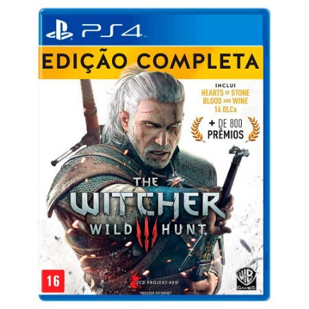 The Witcher 3: Wild Hunt Edição Completa - PS4