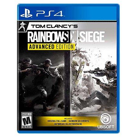 Rainbow Six Siege Edição Avançada - PS4