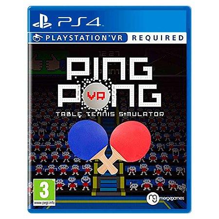 Ping Pong VR - PS4