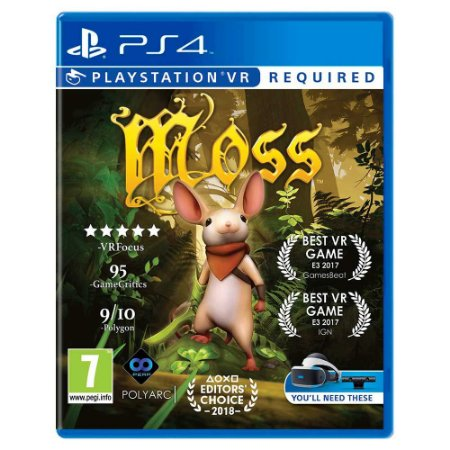 Moss VR - PS4