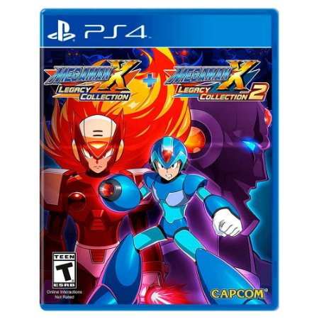 Mega Man X Legacy Collection 1 + Legacy Collection 2 - PS4