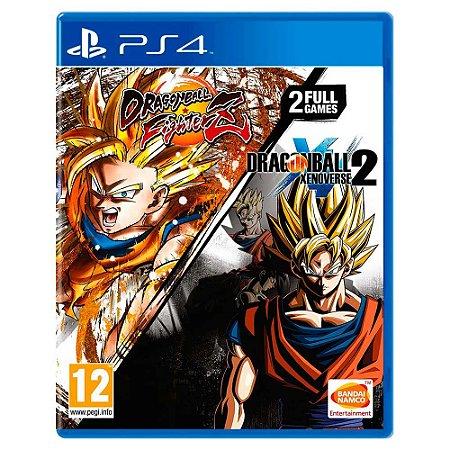 Dragon Ball Fighterz + Dragon Ball Xenoverse 2 Bundle - PS4