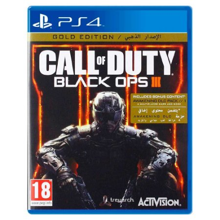 Call of Duty: Black Ops III - Gold Edition - PS4