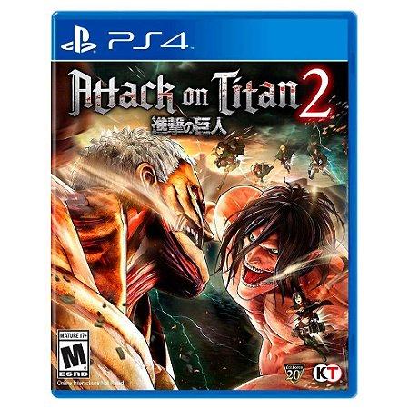 Attack on Titan 2 - PS4
