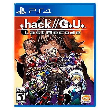 .hack//G.U. Last Recode - PS4