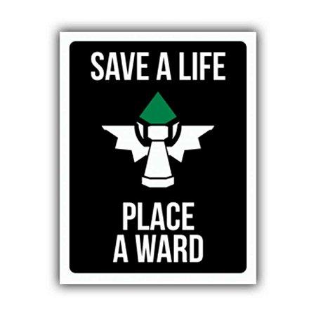 Placa Decorativa #20 Save a Life