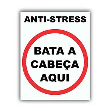 Placa Decorativa #02 Anti-Stress