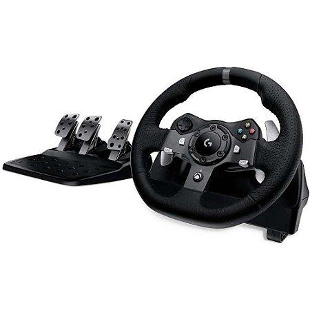 Volante Logitech G920 - Xbox Series, Xbox One, Xbox 360, PC