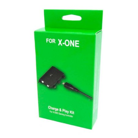 Play and Charge Kit Preto - Xbox One