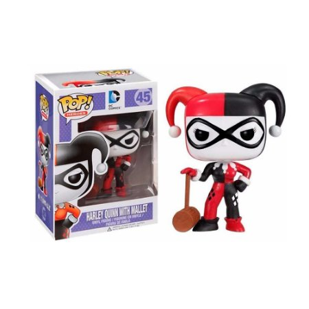 Funko Pop! Harley Quinn with Mallet #45