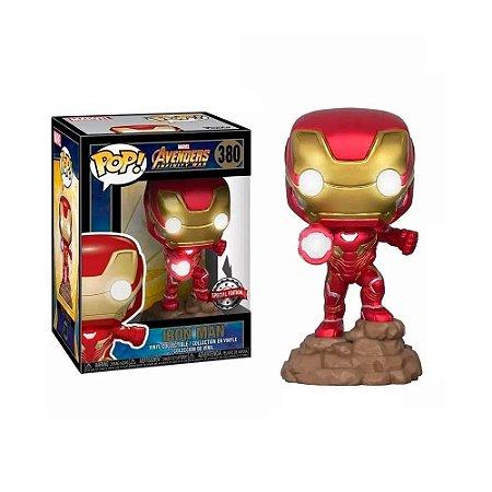 Funko Pop! Iron Man (com LED) #380
