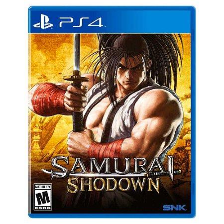 Samurai Shodown (Usado) - PS4