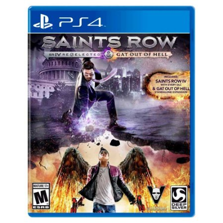 Saints Row Re-Elected (Usado) - PS4
