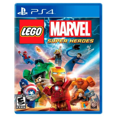 Lego Marvel Super Heroes (Usado) - PS4