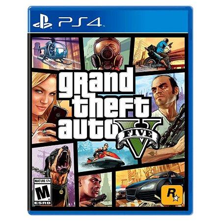Grand Theft Auto V (Usado) - PS4