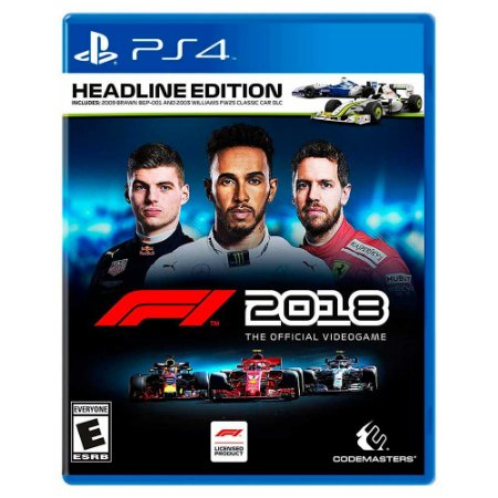 F1 2018 (Usado) - PS4