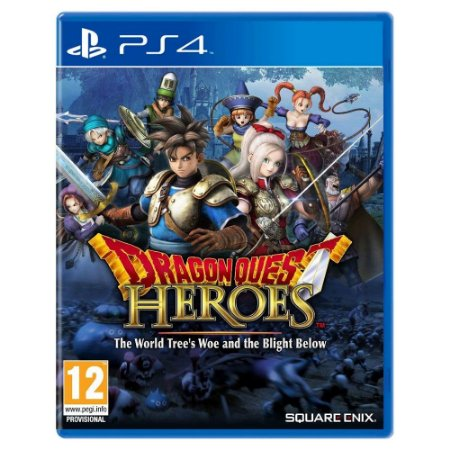 Dragon Quest Heroes: The World's Tree Woe and the Blight Below (Usado) - PS4