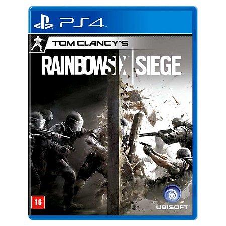 Rainbow Six Siege (Usado) - PS4