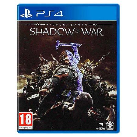 Terra Média: Sombras da Guerra (Usado) - PS4