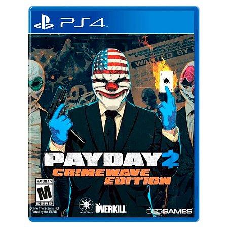 Payday 2: Crimewave Edition (Usado) - PS4