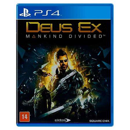 Deus Ex: Mankind Divided (Usado) - PS4