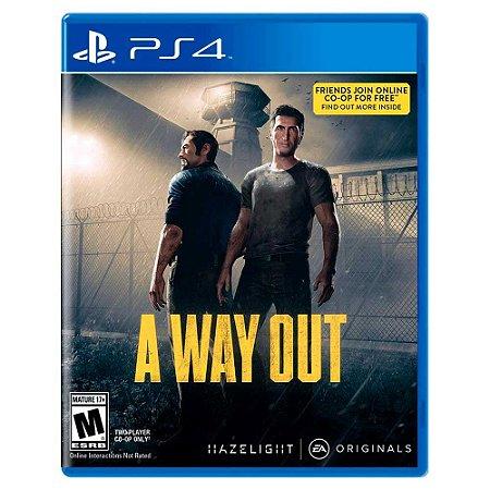 A Way Out (Usado) - PS4