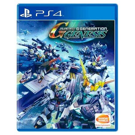 SD Gundam G Generation Genesis (Usado) - PS4