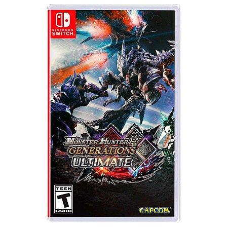 Monster Hunter Generations Ultimate (Usado) - Switch
