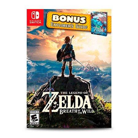 The Legend of Zelda: Breath of the Wild Explorer Edition (Usado) - Switch