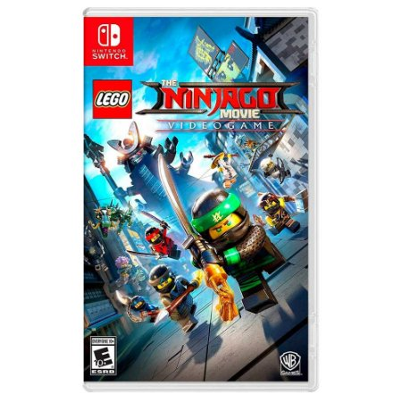 Lego Ninjago O Filme: Video Game (Usado) - Switch