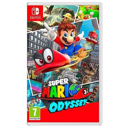 Super Mario Odyssey (Usado) - Switch