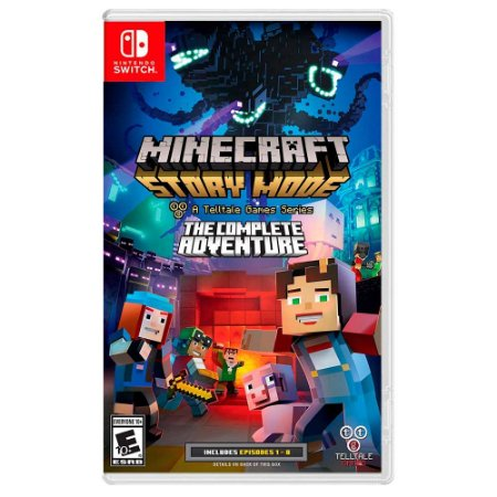 Minecraft: Story Mode The Complete Adventure (Usado) - Switch